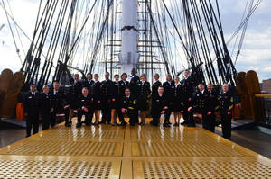 Photo - The Sea Chanters, the official chorus of the United States Navy, will perform in March at First Presbyterian Church of Oklahoma City. Photo provided <strong></strong>