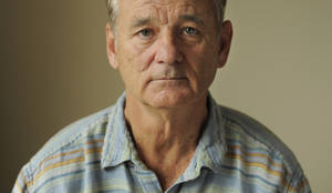 "Photo -   This Sept. 9, 2012 photo shows Bill Murray, a cast member in the film ""Hyde Park on Hudson,"" poses for a portrait at the 2012 Toronto Film Festival in Toronto. (Photo by Chris Pizzello/Invision/AP)"