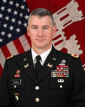 Photo - Col. Michael Teague <strong></strong>