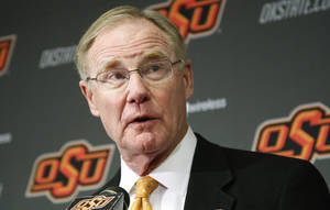 Photo - Burns Hargis Oklahoma State University president