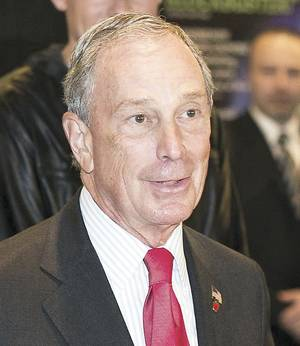 Photo - Michael Bloomberg New York City mayor