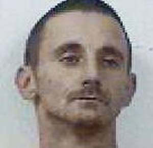 photo - Derick Lynn Tallent Tallent, 31, was arrested Thursday on a complaint of knowingly concealing stolen property. He was taken to McClain County jail after a standoff at a home.