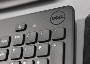 photo - FILE - In this Monday, Aug. 20, 2012, file photo, a Dell keyboard is shown at a Best Buy store in Mountain View, Calif. Dell's stock soared nearly 13 percent Monday, Jan. 14, 2013, on a report that the struggling personal computer maker is in talks to take the company private. (AP Photo/Paul Sakuma, File)