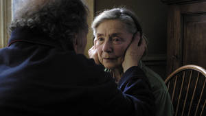 "Photo - This image released by Sony Pictures Classics shows Emmanuelle Riva in a scene from ""Amour."" Riva was nominated  for an Academy Award for best actress on Thursday, Jan. 10, 2013, for her role in ""Amour .""  The 85th Academy Awards will air live on Sunday, Feb. 24, 2013 on ABC. (AP Photo/Sony Pictures Classics)"
