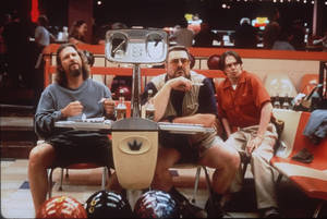 "Photo -   FILE - In this undated file photo released by Gramercy Pictures, Jeff Bridges, left, John Goodman, center, and Steve Buscemi appear in a scene from the motion picture ""The Big Lebowski."" (AP Photo/Gramercy Pictures)"