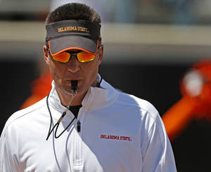 Photo - Mike Gundy. Photo from The Oklahman