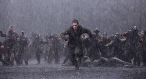 "Photo - This image released by Paramount Pictures shows Logan Lerman in a scene from ""Noah."" (AP Photo/Paramount Pictures, Niko Tavernise)"