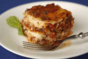 photo - Lasagna.  Photo by Doug Hoke, The Oklahoman <strong>DOUG HOKE</strong>