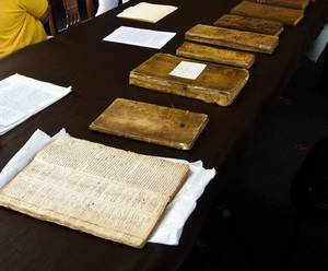 Photo - Records from the Old North Church in Marblehead, Mass. date back to 1684. Oklahoma State University professor Jeff Cooper is working with Congregational churches in Massachusetts to preserve their records. PHOTO PROVIDED  <strong>Picasa</strong>