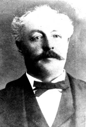 Photo -  Joseph Foucart was the architect of many of Guthrie's original buildings. PHOTO PROVIDED  <strong>PROVIDED</strong>