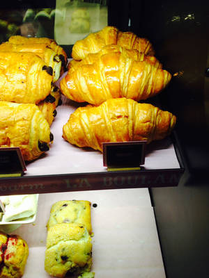 Photo - In this photo croissants are shown in a Starbucks in New York, on Friday, Jan. 24, 2014. Starbucks' chief financial officer Troy Alstead said croissant sales have doubled wherever the new recipes have been introduced. (AP Photo/Candice Choi)