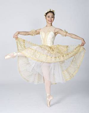 Oklahoma City Ballet dancer Miki Kawamura 