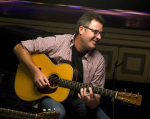 Vince Gill is shown last Sept. 20 at the Hammerstein Ballroom in advance of his CMT Crossroads concert in New York. Gill will be honored Thursday with a star on the Hollywood Walk of Fame. AP ARCHIVES PHOTO