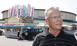 Photo - Scott Munz, the Oklahoma State Fair vice president of marketing and public relations, says planning is a year-round effort of all involved in the Oklahoma State Fair.  <strong>David McDaniel - The Oklahoman</strong>