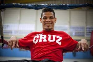 Photo - FILE - In this Oct. 4, 2012 file photo, boxer Orlando Cruz poses for a portrait after training at a public gym in San Juan, Puerto Rico. Cruz has proposed marriage to his partner after recently announcing he was gay. Cruz said Wednesday, Aug. 14, 2013 on Twitter that he has taken an important step in his life and that he wants happiness for both of them. Cruz announced he was gay in Oct. 2013,  becoming what is believed to be the first pro boxer to come out as openly homosexual while still competing. Cruz is a featherweight fighter and is 20-2-1 with 10 knockouts. (AP Photo/Dennis M. Rivera Pichardo, File)