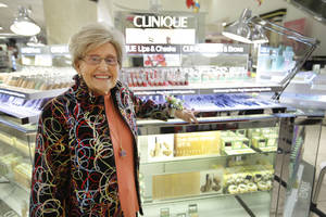 photo - Inell Quimby retired from Macy's in Penn Square Mall in Oklahoma City. Quimby started working at the mall in 1965. Photo by Steve Gooch, The Oklahoman