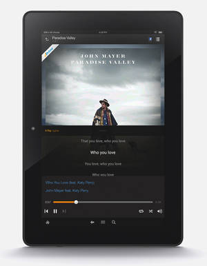 Photo - This product image released by Amazon features the company's new Prime Music streaming service. Starting Thursday, June 12, 2014, Amazon.com Inc. will offer more than a million tracks for ad-free streaming and download to Kindle Fire tablets as well as to computers and the Amazon Music app for Apple and Android devices. (AP Photo/Amazon)
