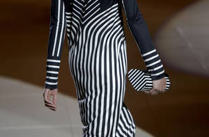 Photo -   The Marc Jacobs Spring 2013 collection is modeled during Fashion Week in New York, Monday, Sept. 10, 2012. (AP Photo/Seth Wenig)