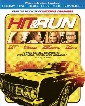 Photo - Artwork for the movie 'Hit & Run' <strong></strong>