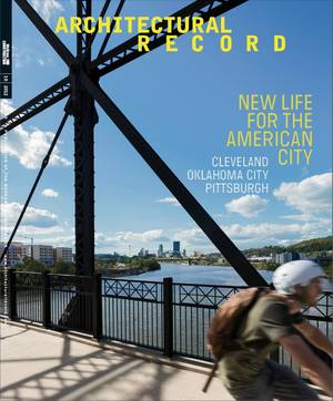 Photo - Oklahoma City's transformation is featured prominently in the October issue of Architectural Record. <strong>Provided</strong>