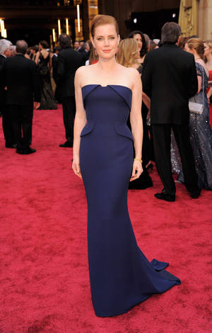 Photo - Amy Adams arrives at the 2014 Oscars.  AP File Photo <strong>Chris Pizzello</strong>