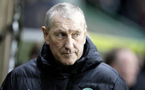 Photo - FILE - This is a Feb. 28, 2014 file photo  of Hibernian's manager Terry Butcher. The Scottish soccer team  Hibernian have sacked manager Terry Butcher following their relegation from the Scottish Premiership, the club have announced on their website Tuesday June 10, 2014. (AP Photo/ Graham Stuart/PA) UNITED KINGDOM OUT
