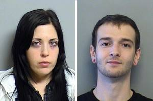 Photo - Clorinda Alexis Archuleta (left) and Joshua Wray. Image via Tulsa World