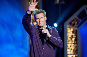 Photo - Comedian Brian Regan performs Thursday at Rose State Performing Arts Theatre in Midwest City. <strong></strong>