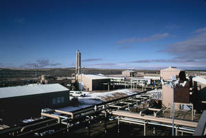 Photo - The Echo Springs natural gas processing plant owned by Williams Cos. Inc. is shown in Carbon County, Wyo. PHOTO PROVIDED BY WILLIAMS COS. INC.