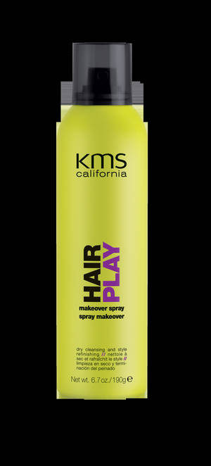 Photo - Instead of washing and blow drying your hair everyday, consider using a product such as KMS Makeover Spray that can refresh your style in an instant. Photo provided. <strong></strong>