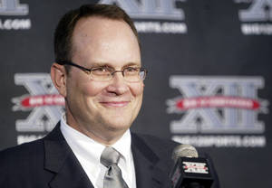 photo - Big 12 Conference commissioner Dan Beebe. AP Archive Photo.