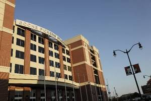 photo - Boone  Pickens Stadium on Oklahoma State University campus in Stillwater Thursday, Aug. 13, 2009. Photo by Doug Hoke, The Oklahoman.