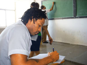 photo - Former OU linebacker Pasha Jackson is working on becoming a doctor at the Latin American School of Medicine in Havana, Cuba. Photo provided