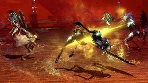 "Photo - This video game image released by Capcom shows a scene from ""DmC: Devil May Cry."" (AP Photo/Capcom)"