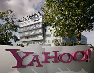 Photo - An exterior view of Yahoo Inc. headquarters in Sunnyvale, Calif., is shown. AP Photo