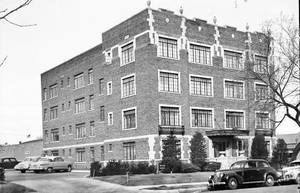 Photo - The Mayfair is shown in this 1956 photograph. Photo provided by the Oklahoma Historical Society