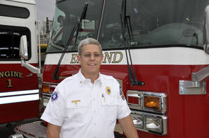 photo - Mike Barnes has been named the chief of fire prevention for the Edmond Fire Department. PHOTO PROVIDED