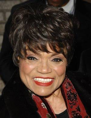 Photo -  This March 6, 2008 file photo shows actress Eartha Kitt at the Broadhurst Theatre in New York. A family friend says Kitt has died Thursday, Dec. 25, 2008 of colon cancer. She was 81.