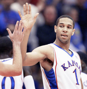 Photo - Xavier Henry A successful freshman season for Kansas