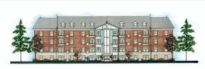 Photo - A proposed, 48-unit senior housing complex is being opposed by residents as inappropriate for the site at NW 13 and Shartel. <strong>Provided</strong>