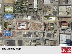 Photo - A vicinity map is shown for the site of the new Oklahoma City Police Department facility. Photo Provided <strong>PROVIDED</strong>