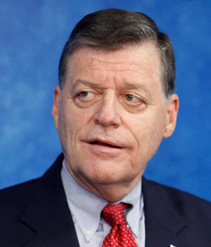 Photo - U.S. Rep. Tom Cole. Photo by Paul B. Southerland / The Oklahoman.