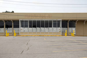 "Photo - This former Homeland supermarket at NW 39 and Pennsylvania probably ""will not last long"" on the market, says broker Mark Inman of CB Richard Ellis-Oklahoma. So much big-box space has been absorbed the past couple of years that such spaces are in high demand. <strong>Steve Gooch - The Oklahoman</strong>"