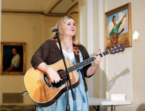 K.C. Clifford sings during the Oklahoma Arts Council 36th Annual Governor's Arts Awards at the state Capitol in Oklahoma City,  Tuesday, Nov. 15, 2011.  Photo by Sarah Phipps, The Oklahoman ORG XMIT: KOD