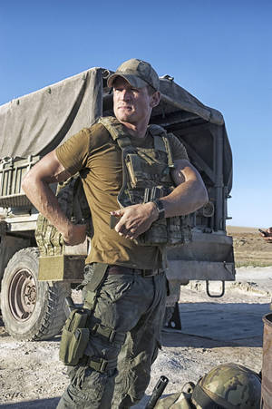 "Photo - Philip Winchester stars as Sgt. Michael Stonebridge in ""Strike Back."" CINEMAX PHOTO"