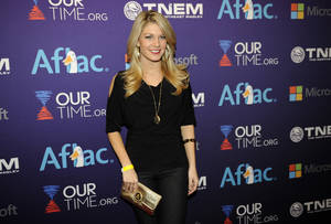 photo - Miss America 2013 Mallory Hagan arrives at the OurTime.org Inaugural Youth Ball Generation Now Party on Saturday, Jan. 19, 2013, in Washington. (Photo by Nick Wass/Invision/AP)