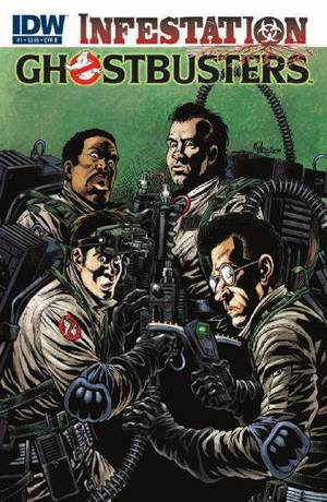 "Photo - The cover to ""Ghostbusters: Infestation"" No. 1. IDW Publishing photo. <strong></strong>"