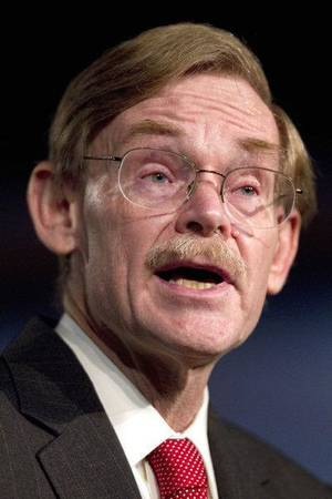 photo - World Bank President Robert Zoellick delivers remarks on the changing world economy, Wednesday, Sept. 14, 2011,  at George Washington University in Washington.  (AP Photo/Evan Vucci) ORG XMIT: DCEV101