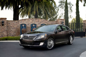 Photo - This undated photo made available by Hyundai shows the 2014 Hyundai Equus. (AP Photo/Hyundai)