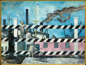 "Photo - ""The Blue Peter,"" a work dating from 1927 or 1928 by Isabel Lydia Whitney. Photo provided"